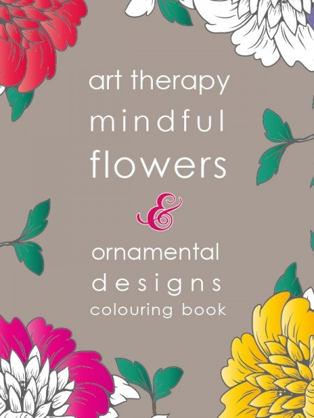 Mindful Flowers Colouring Book